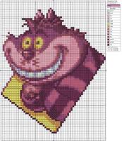 Cheshire Cat by Makibird-Stitching