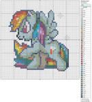 Rainbow Dash by Makibird-Stitching
