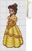 Belle by Makibird-Stitching