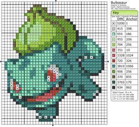 Bulbasaur III by Makibird-Stitching