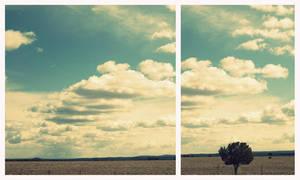 Sunshine and Clouds by eleyaq