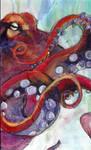 octopus by burntbride