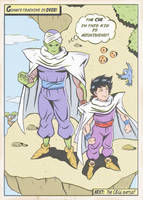 PICCOLO AND GOHAN by paintmarvels