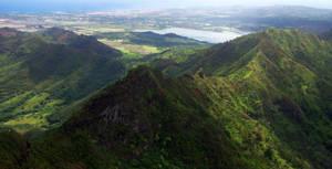 kauai mountains by xthumbtakx