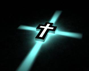 Cross in Blue by dacksoldier