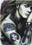 Axl Rose by kittrose