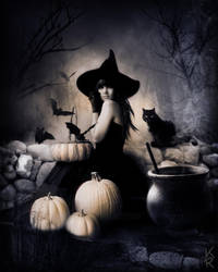 All Hallows Eve by kittrose