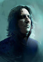 Snape by kittrose