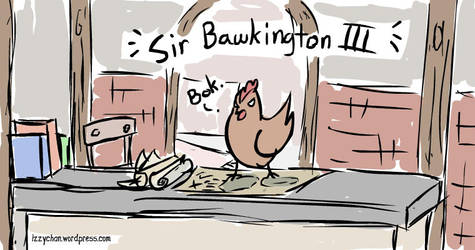 Sir Bawkington III by izumizagari