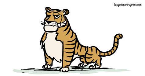Tiger by izumizagari