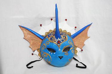 Vaporeon Carnival Mask for Desert Bus 7 by Cultureshock007