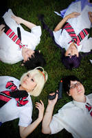 Ao no Exorcist: Relaxed. by LostDonut