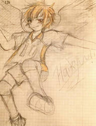 Haikyuu - Hinata by LostDonut