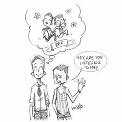 BFF_Dirk Gently by Saisoto