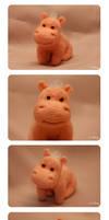 Cute Hippo 2 by SvetLany