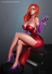 Jessica Rabbit  - 29th Pretty Picture by essentialsquid