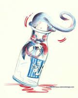 Chat-lait by Ozmoze-Land