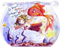 Le-club-du-poisson-rouge by Ozmoze-Land
