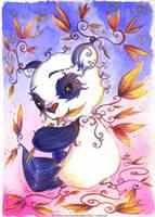 Panda by Ozmoze-Land