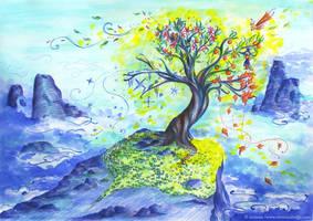 arbre des saisons by Ozmoze-Land
