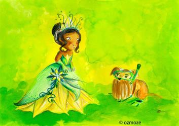 Princess Disney and their Dog (Serie) by Ozmoze-Land