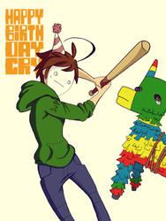 Happy Birthday Cry by sennasazuki
