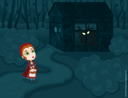 Little Red Riding Hood by AhNinniah