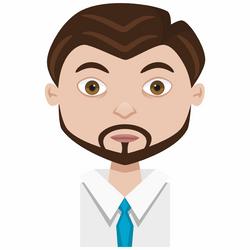 Male cartoon avatar by AhNinniah