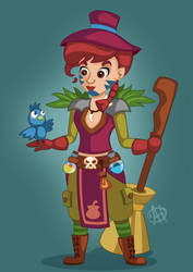 Character Design by AhNinniah