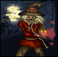 The Scarecrow - Moonlit Escape by Evergreen-Willow