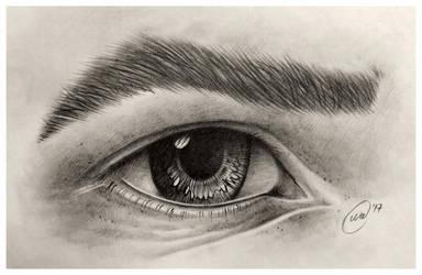 Eye study by InkWitchArts