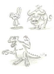 Weird Animals by BooDestroyer89
