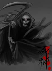 Grim Reaper by Christy58ying