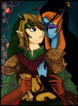 Midna isn't leave me alone... by Christy58ying