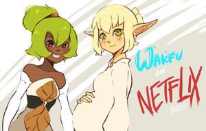 Wakfu on Netflix by WhitedoveHemlock