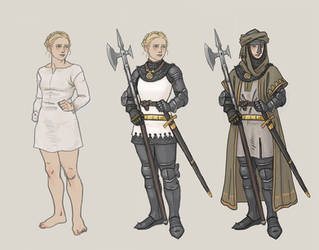 Turid plate armour by Bergholtz