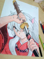 InuYasha by SnitchWing