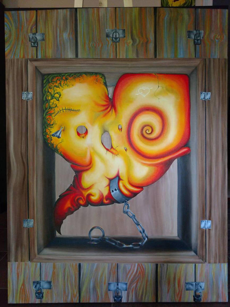 heart in the box by katyawentzart