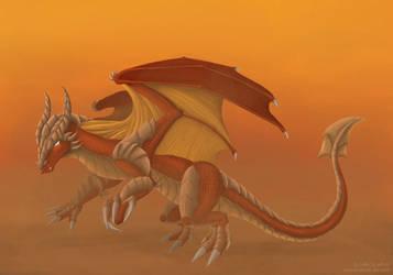 Dragon of the desert by LeMuTaLisKFoU