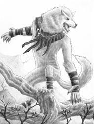 Arlinn Kord Werewolf by LeMuTaLisKFoU