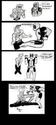 Deadpool vs Johnny Cage by Deadfish-Comics