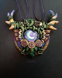 World of warcraft Druid crest pendant by Trillink