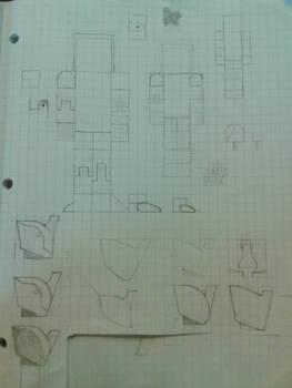 Excalibur Blueprint 1 by BuildMyPaperHeart