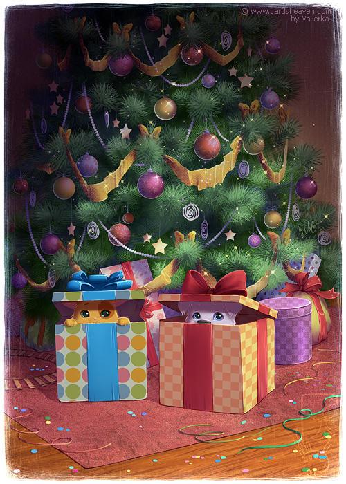 Waiting for Santa by VaLerka-Ru