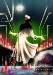 The Mad Doctor by galia-and-kitty