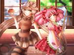 Commission: Kawaii Cafe by kgfantasy
