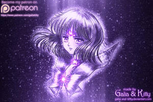 Sailor Saturn, Soldier of Destruction by kgfantasy