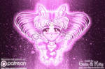 Sailor Chibi Moon, Soldier of Love and Justice by kgfantasy