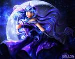 Princess Luna (My Little Pony) [links updated] by kgfantasy