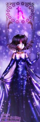 Sailor Royalty: Princess Saturn (Happy Birthday!) by kgfantasy